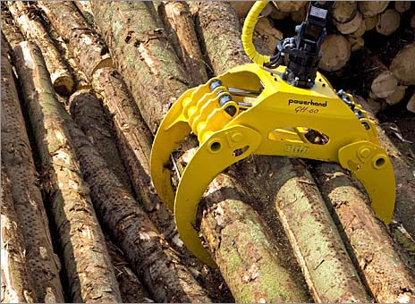 Timber Grab 12-22 ton