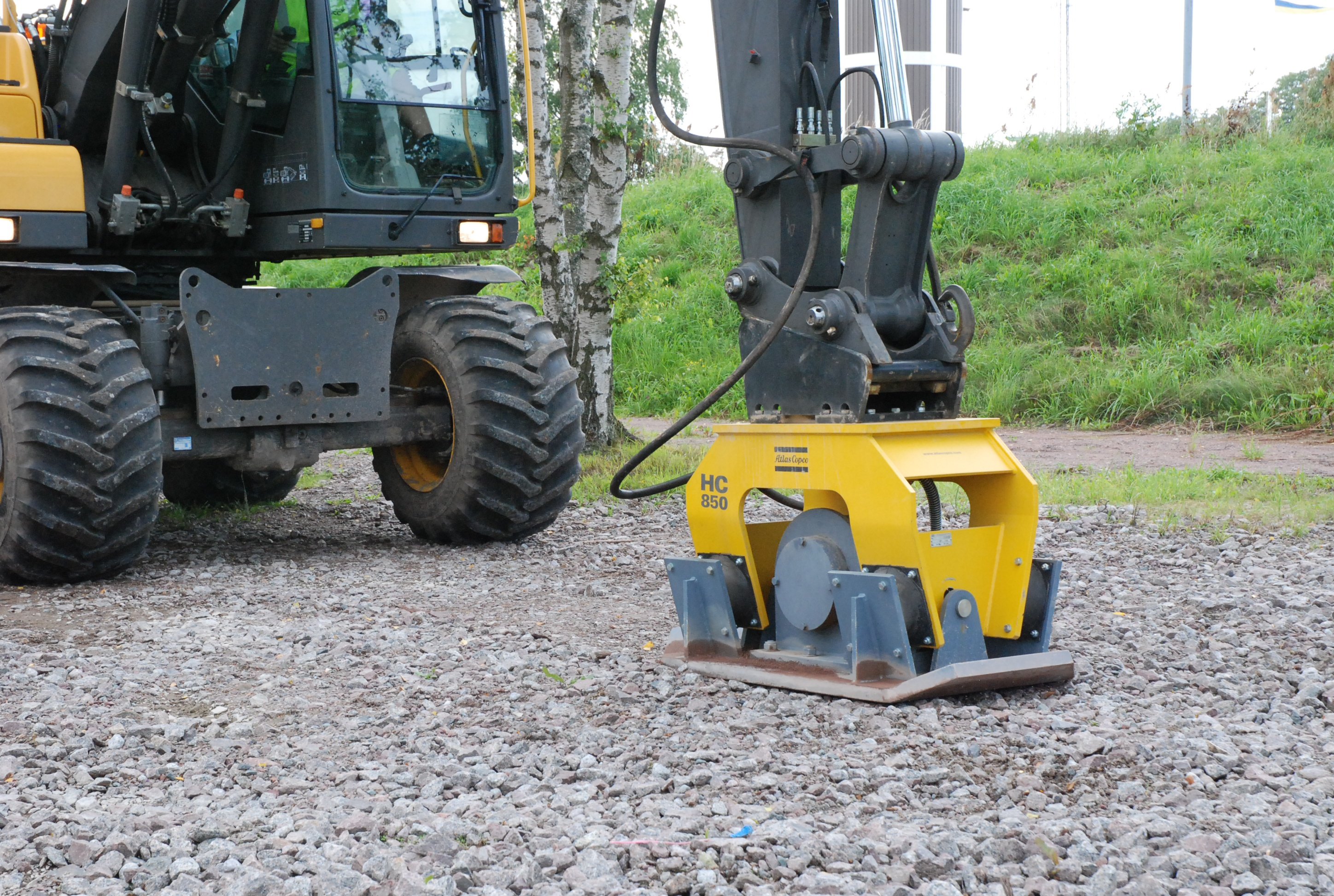 Compaction Plate 12 - 22 ton