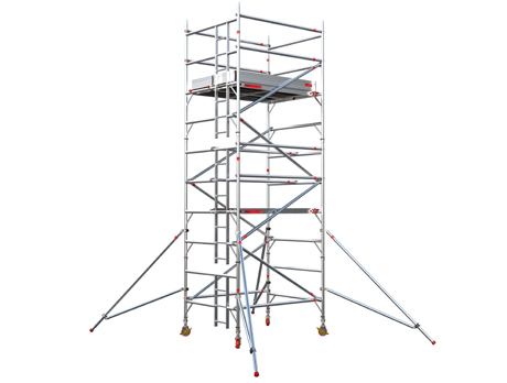 EIGER500 Double Width Access Tower (Working height up to 12.2m)