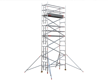 EIGER500 Single Width Access Tower (Working heights up to 12.2m)