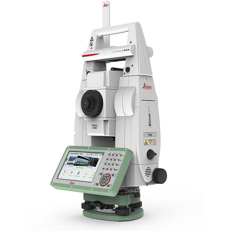 "Leica TS13 5"" Total Station"