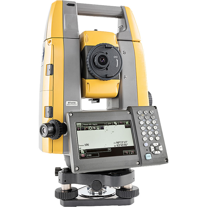 "Topcon GT-1002 2"" Robotic Total Station"