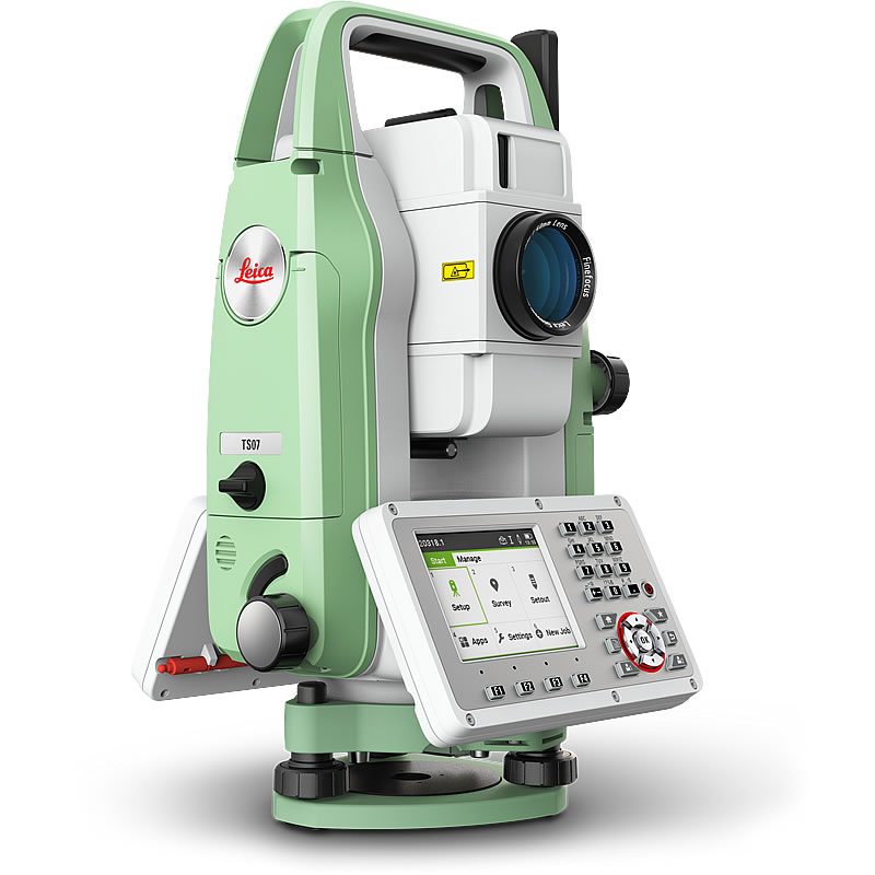 Leica TS07 Total Station