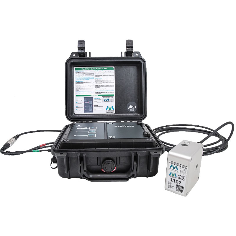 AVA AvaTrace M80 Vibration Monitoring System